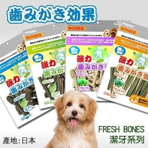*KING WANG*【潔牙一番】強力日本FRESH BONES潔牙骨(海藻.葉綠素.雙效.葉綠螺旋型-300克