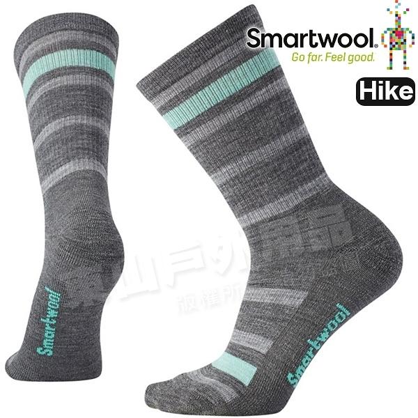 Smartwool Hike LT SW000764-052中性灰  女輕量減震型健行中長襪 美麗諾羊毛襪/機能襪/運動襪