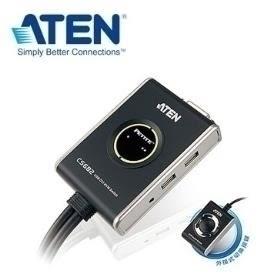 ATEN 2埠 USB DVI KVM多電腦切換器 (CS682)