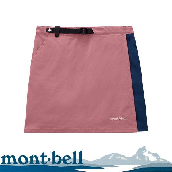 [現貨] Mont-Bell 日本 女 Stretch Od Wrap Shorts 褲裙《黑》/1105583/運動