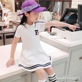 兒童節禮物韓版童裝女童裙子夏裝公主連身裙洋裝新款夏季學院風兒童洋氣潮衣 阿卡娜
