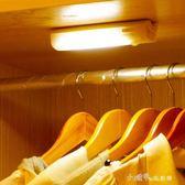 led紅外人體感應光控充電櫥櫃臥室小夜燈起臥室樓梯過道衣櫃樓道 小確幸生活館