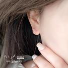 Sequin.925純銀簡單雙圈穿針式耳環【sa227】911 SHOP