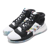 adidas 籃球鞋 Marquee Boost FIBA 白 黑 紅 BOOST中底 男鞋 運動鞋【PUMP306】 EG1538