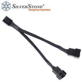 SilverStone 銀欣 SST CPF01 風扇擴充線 1分2