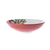 日本菜頭紅5.5吋深盤