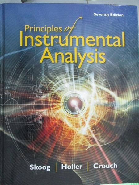 【書寶二手書T1/大學理工醫_ZFD】Principles of Instrumental Analysis