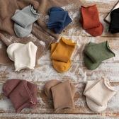 5雙裝 素色長筒襪子女中筒襪薄款堆堆襪潮月子襪【倪醬小舖】