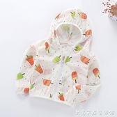 兒童防曬衣夏季冰絲薄款透氣男女童寶寶防曬服上衣空調衫嬰兒外套 創意家居生活館