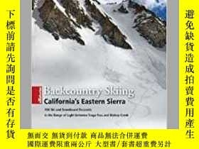 二手書博民逛書店Backcountry罕見Skiing California s