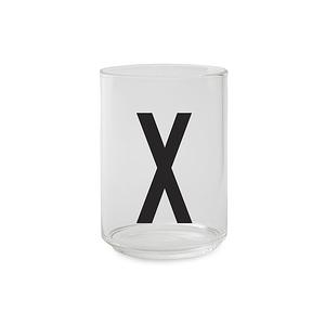 Design Letters 字母玻璃杯 X