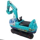 嘉百樂 電動可乘坐挖掘車 挖土機 218 (附電池)/一台入(促2700)兒童挖掘機 可坐可騎挖土機滑行車