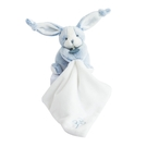 GMPBABY 法國娃娃Doudou藍白兔手巾布偶12cm