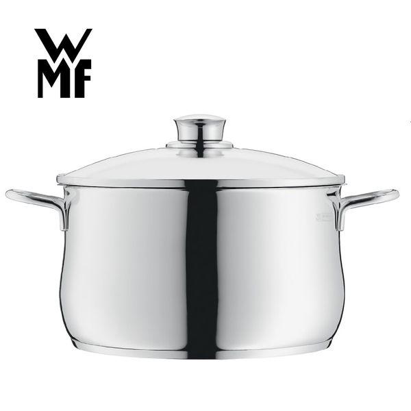 【德國WMF】DIADEM PLUS 高身湯鍋 24cm 6L 不鏽鋼鍋
