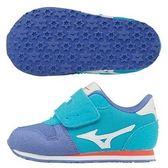 美津濃 MIZUNO幼兒鞋TINY RUNNER 5(水藍X白)K1GD173201 【 胖媛的店 】