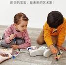 兒童雨鞋DIY繪畫雨鞋寶寶雨靴【橘社小鎮】