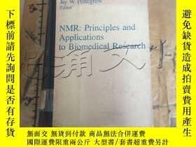 二手書博民逛書店NMR:罕見Principles and Application