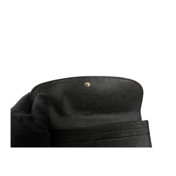 【COACH】馬車LOGO兩折長夾(薄款)(黑色) F59949 IMBLK