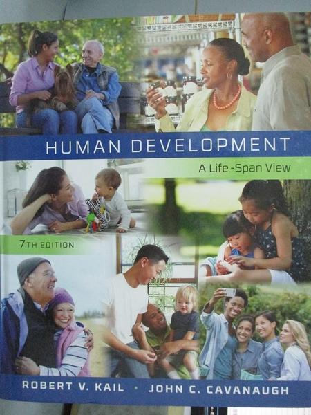 【書寶二手書T9/心理_YKI】Human Development: A Life-Span View_Kail, Ro