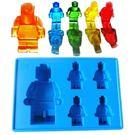 【發現。好貨】食用級矽膠樂高人偶積木型型冰格製冰盒冰格果凍模LEGO模型