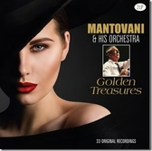【停看聽音響唱片】【黑膠LP】MANTOVANI & HIS ORCHESTRA - Golden Treasures (2LP)