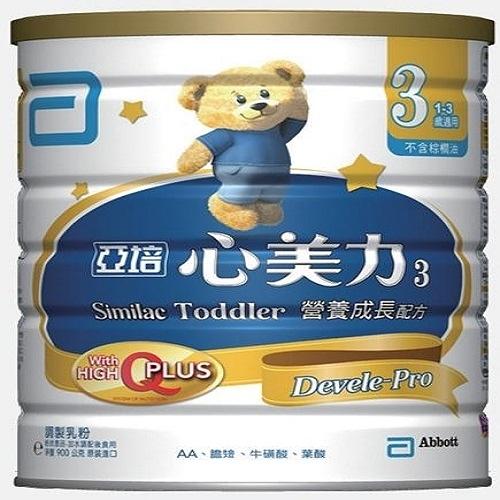 亞培心美力成長奶粉3號900g【愛買】