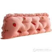韓版全棉床頭板大靠墊軟包可拆洗床上全棉大靠背沙發長靠枕床靠背 圖拉斯3C百貨