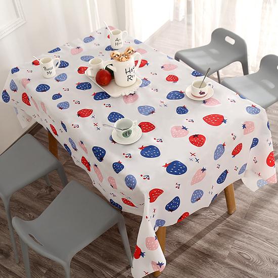 野餐墊 桌巾 大PVC 餐布 防水 長桌巾 餐墊 桌布 桌墊 免洗 茶几 清新印花桌布【N231】米菈生活館