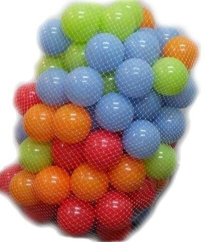 外銷特別款~遊戲彩球 (球屋、球池專用)~100球~台灣製~CE認證~SGS檢驗~外銷多國~幼之圓