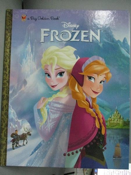 【書寶二手書T1/原文小說_ZBQ】Disney Frozen_Scollon, Bill