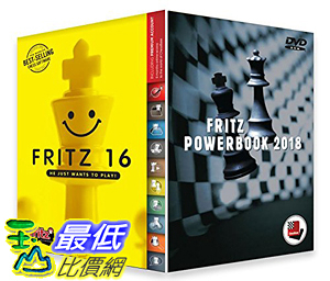 [7美國直購] 2018 amazon 亞馬遜暢銷軟體 Fritz 16 Chess Playing Software Bundled