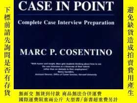 二手書博民逛書店Case罕見In Point: Complete Case Interview PreparationY307