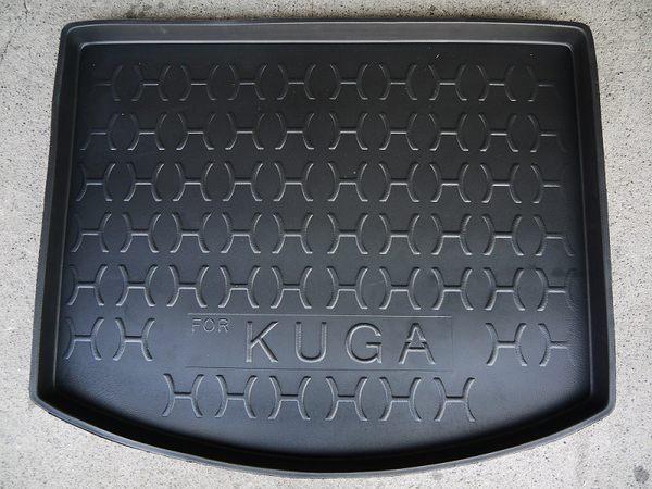 【吉特汽車百貨】台灣製加高型 福特 FORD KUGA 酷卡 專用防水托盤 防水材質 後車箱 後廂墊
