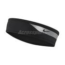 Nike 頭帶 360 Graphic Headband 黑 銀 男女款 跑步 路跑 運動 【PUMP306】 N100011304-7OS