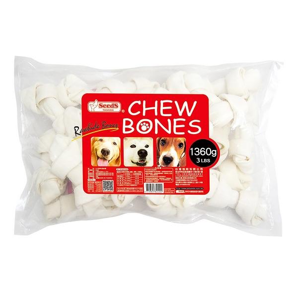 ◆MIX米克斯◆Seeds惜時 CHEW BONES 4~5吋牛皮咬骨 (1360g)
