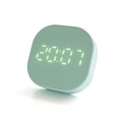 鬧鐘 小鬧鐘簡約夜光靜音電子床頭學生用迷你日歷時鐘燈多功能