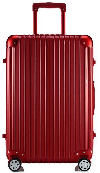 ARTBOX 超次元 - 29吋 輕量PC鏡面鋁框行李箱(玫瑰紅)