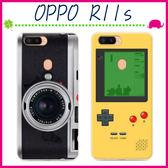 OPPO R11s 6吋 創意彩繪系列手機殼 個性背蓋 TPU手機套 經典圖案保護套 錄音機保護殼 全包軟款