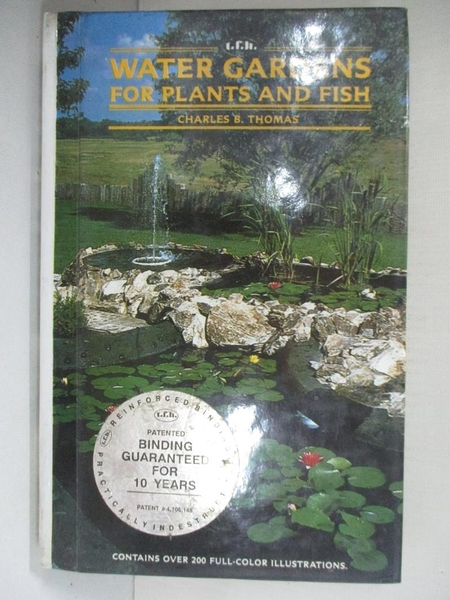 【書寶二手書T7/設計_A9O】Water Gardens for Plants and Fish