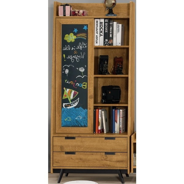 展示櫃 客廳櫃 高低櫃 MK-863-2 摩德納2.7尺書櫥【大眾家居舘】