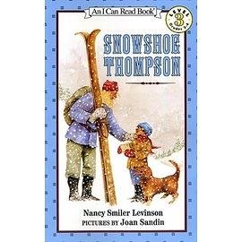 〈汪培珽英文書單〉〈An I Can Read系列:Level 3)SNOWSHOE THOMPSON / 讀本
