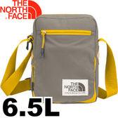 【The North Face Poquito 6.5L 多功能肩背包〈棕/黃〉】CJ4S/肩背包/背包/斜背包★滿額送