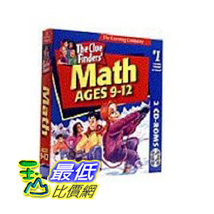 [美國直購 ShopUSA] Cluefinder's Math Ages 9-12 by The Learning Company $988