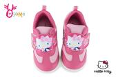 Hello kitty 凱蒂貓 45周年 中小童 運動鞋 慢跑鞋 MIT 台灣製 H7828#桃紅◆OSOME奧森鞋業