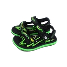 G.P(GOLD PIGEON) 涼鞋 防水 黑/綠 中童 童鞋 G1671B-60 no409