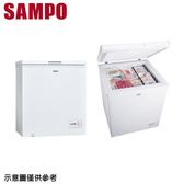 【SAMPO 聲寶】150公升上掀式冷凍櫃SRF-151G