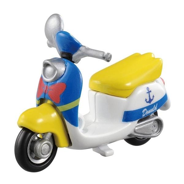 TOMICA 多美小汽車 迪士尼 唐老鴨摩托車 亞洲限定版 【鯊玩具Toy Shark】