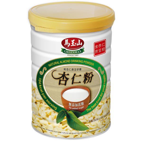 【馬玉山】無糖杏仁粉2件超值免運組~伴手禮