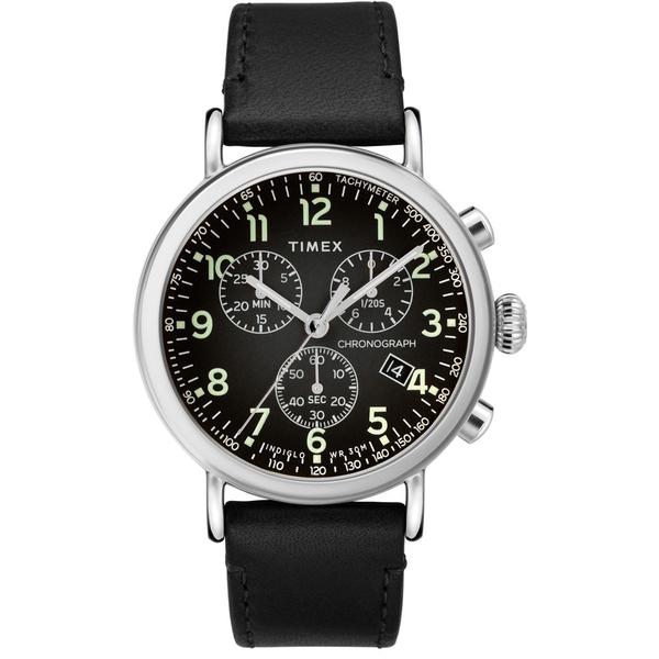 【TIMEX】天美時 復刻系列 經典復古手錶  ( 黑TXTW2T21100)