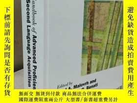 二手書博民逛書店The罕見Handbook of Advanced Proficiency in Second Language